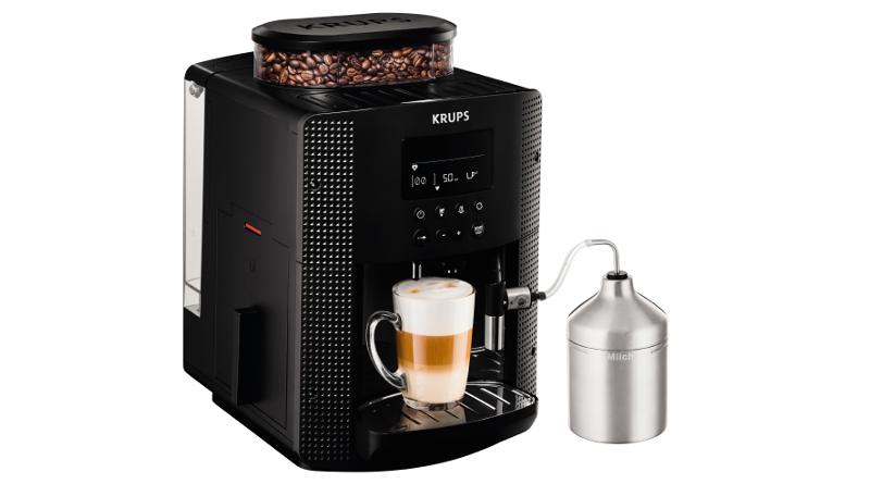 kompaktowy i stylowy ekspres do kawy krups roma ea8160 wartomie. Black Bedroom Furniture Sets. Home Design Ideas