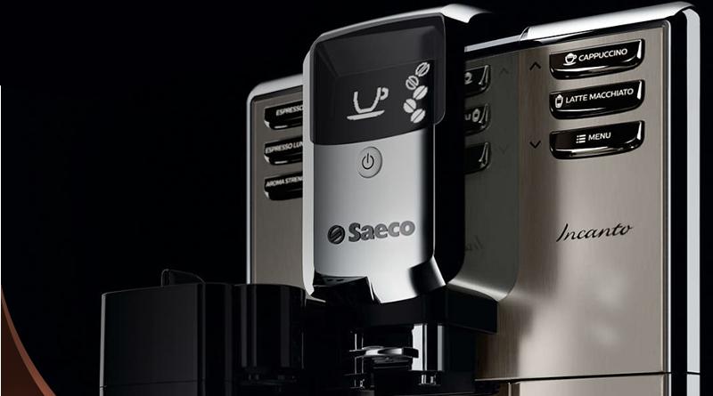 Elegancki ekspres do kawy Saeco Incanto HD8918/41