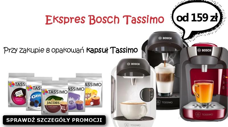Świeże Ekspresy do kawy Bosch Tassimo | Kapsułki | Cena | Opinie CT32