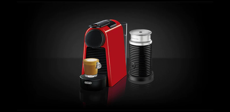 ekspres DeLonghi Nespresso Essenza Mini red