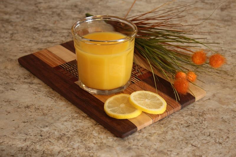 świeży sok z cytrusów