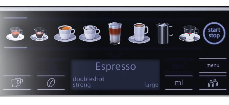 Użytkowanie ekspresu do kawy Siemens TE655319RW