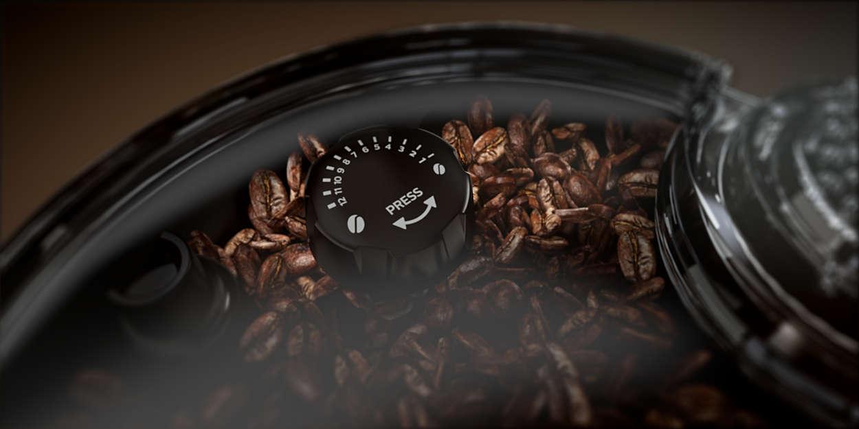 Ustawienia młynka do kawy